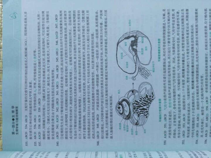 2016贺银成考研西医综合:辅导讲义+同步练习+历年真题解析+全真模似试卷(套装共4册 附光盘) 晒单图