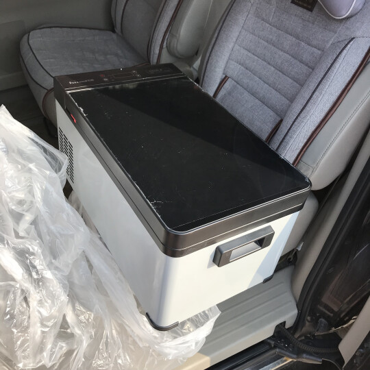 德国EROICA压缩机制冷车载冰箱车家两用Q18冷藏冷冻包结冰可达-25汽车迷你小冰箱 Q18-17L轿车货车用-不能家用 晒单图