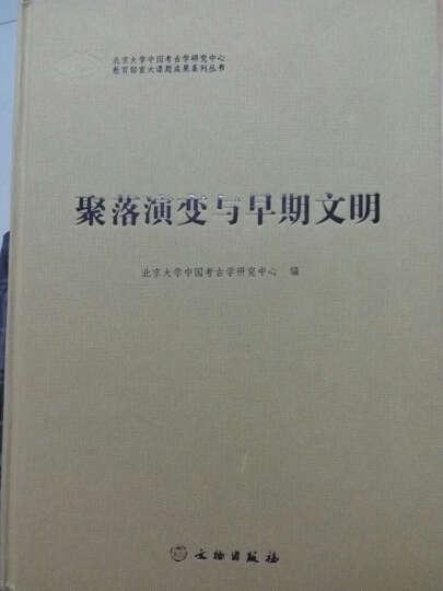 北京大学中国考古学研究中心教育部重大课题成果系列丛书:聚落演变与早期文明 晒单图