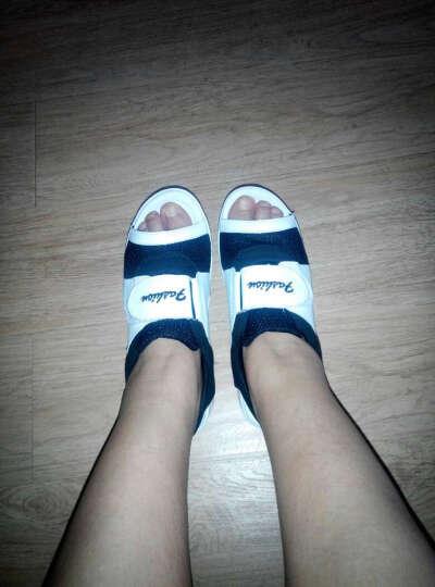 睡米2018夏网纱鱼嘴厚底凉鞋女网鞋松糕鞋A5507 1黑色 35经典鱼嘴鞋 晒单图