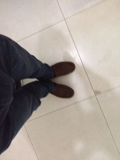 全球购 UGG  休闲舒适透气男士豆豆鞋开车鞋 STT咖啡色 美码US 09 晒单图