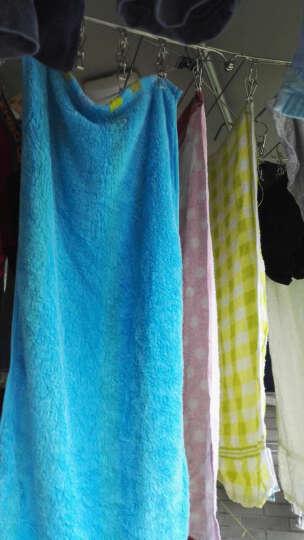 爱丽思IRIS  吊式不锈钢晾衣架多头晾衣夹子 银色 42S 74*34*33.4cm 晒单图