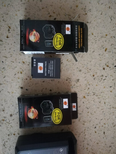 蒂森特(dste) 尼康P340 S9600 A1000数码相机 EN-EL12 两电一充 晒单图