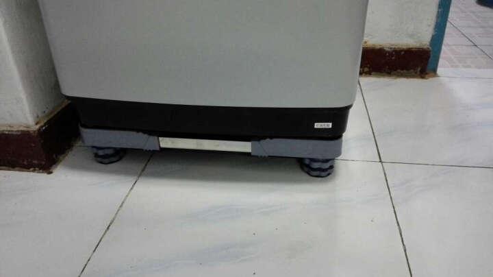 IT-CEO 可调节支架 滚筒洗衣机底座 通用洗衣机托架 冰箱冰柜底座 移动支架 45-63厘米 波浪纹 晒单图