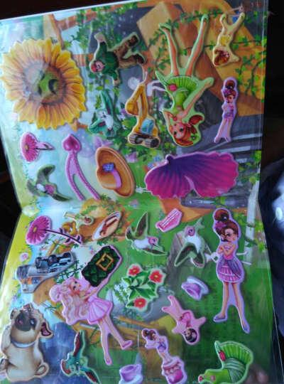 芭比3D梦幻泡泡贴:芭比花仙子(立体贴纸) 晒单图