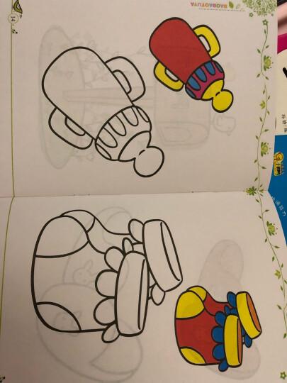【升级版】全24册 绘画启蒙 小手涂色书涂鸦本宝宝 简笔画大全幼儿绘画  美术[3-6岁] 晒单图