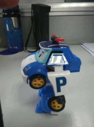银辉Silverlit变形珀利警车救护车poli儿童玩具 手表遥控车 遥控步行机器人83090 晒单图