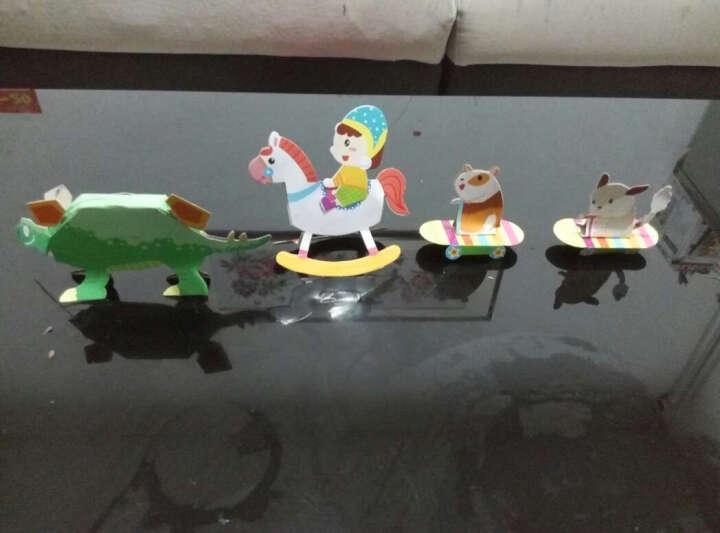 幼儿趣味小手工 全6册 3-4-6岁儿童手工大王手工制作书 宝宝DIY立体动手动脑益智启蒙玩具书 晒单图