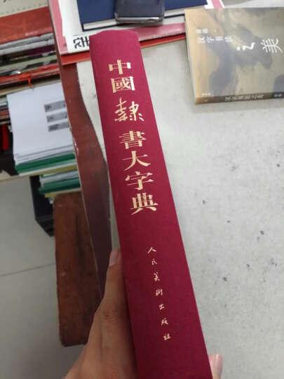 中国隶书大字典 晒单图