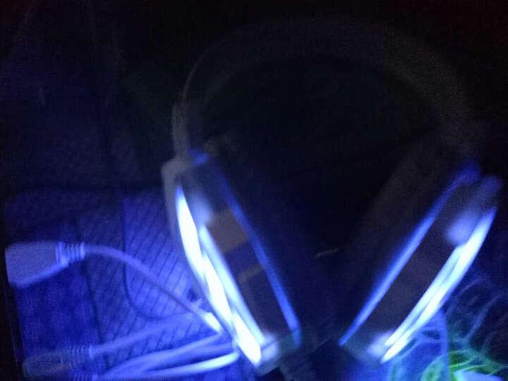 新盟牧马人机械手感键盘鼠标耳机三件套装有线电脑笔记本游戏外设键鼠lol外接USB办公键盘 金白色(双色注塑键帽 字键缝隙双发光) 晒单图