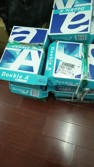 Double A  70g  A4 复印纸500张/包  5包/箱(2500张) 晒单图