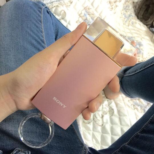 索尼(SONY)靓咔 DSC-KW1 卡哇伊 香水瓶式自拍相机 卡片机 送礼 数码相机 公主粉 标配 晒单图
