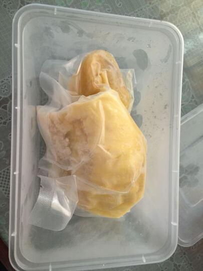 泰国进口 金枕榴莲肉 250g 无核 晒单图
