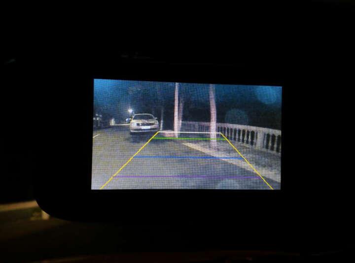 迪斯玛高清行车记录仪 双镜头后视镜电子 测速一体机 双镜头+送16GB 晒单图