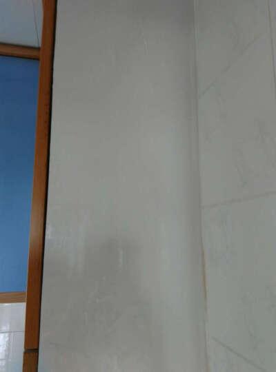 【第三颗钻石】厨房壁橱晶钢门贴膜墙贴橱柜门贴纸光面闪亮珠光装饰浴室贴膜墙纸 银白款 60cm宽*0.5米 晒单图