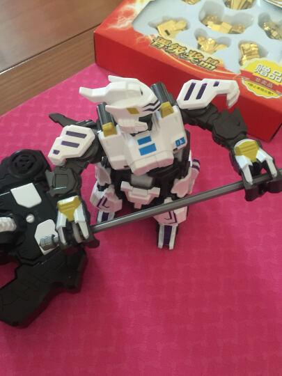 骅威极速勇士234铁甲三国重装出击对战机器人套装电动遥控格斗男孩玩具 张飞(单只款) 晒单图