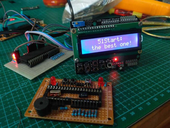 酷道KY54 LCD1602 字符液晶 输入输出扩展板 LCD Keypad Shield 晒单图