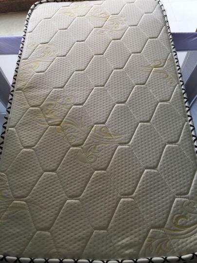 酷豆丁(coolbaby) 天然椰棕透气婴儿床垫 宝宝床垫儿童床垫 白色 107*61*3 适用970 晒单图
