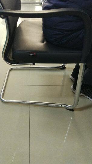 虹桥电脑椅 职员椅 会议椅 招待椅 皮网结合弓形椅子 固定椅 班前椅 35天发货 晒单图