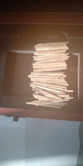 珠阁亮(ZHU GE LIANG) 珠阁亮 高档沉香烟丝沉香木片香烟伴侣礼盒装 7A级檀木色礼盒送小叶紫檀点烟器烟嘴铜针 晒单图