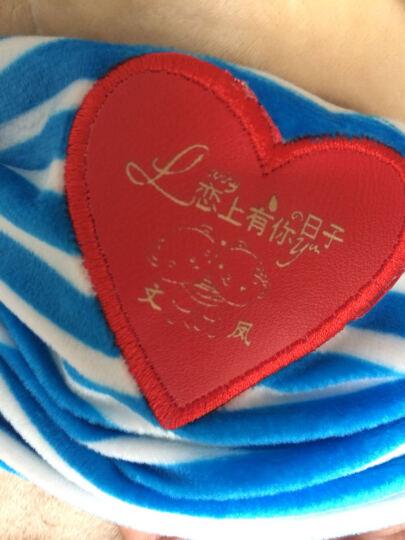【免费刻字】蓝牙趴趴熊音乐抱枕七夕情人节生日礼物女生 创意实用礼品送女友老婆孩子 蓝牙趴趴熊(刻字+眼镜) 晒单图