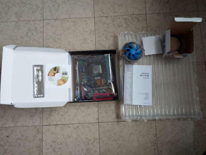 华硕FX8300 8350 1060独显台式电脑组装电脑游戏吃鸡主机公司办公游戏家用游戏电脑整机主机 四核645+3.2主频+4G内存+A78+风扇 晒单图
