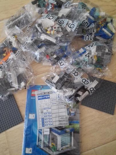 乐高(LEGO)积木 城市警察系列男孩子小颗粒城市系列警察局高速追捕5-12岁 60137 追踪重型拖车 晒单图