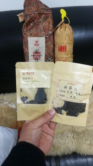 湘益茯茶 湖南安化黑茶 小千两花卷茶 益阳茶厂家传百两茶3.625kg 一根 晒单图