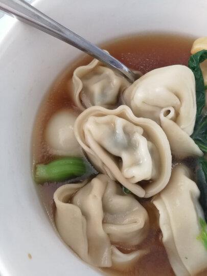 湾仔码头 上海菜肉大馄饨 青菜香菇猪肉口味 600g(30只 早餐 火锅食材) 晒单图