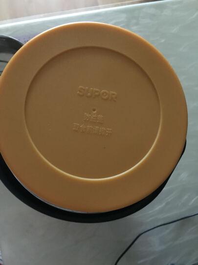 苏泊尔(SUPOR)304不锈钢保温饭盒2.5L双层保温桶三层分格汤粥桶学生保温提锅KF25A1 晒单图