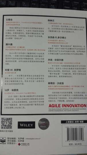 敏捷创新: 用革命的方式来实现共享、激发创新并加速成功 晒单图