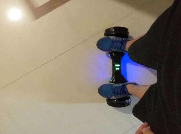 HIMIWAY艾沃克双轮电动平衡车 两轮成人儿童代步车体感车思维车带扶手 时尚白 晒单图