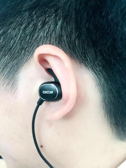 QCY QY19 音乐蓝牙耳机 无线运动耳机 手机耳机 小米苹果安卓通用 星空黑 晒单图