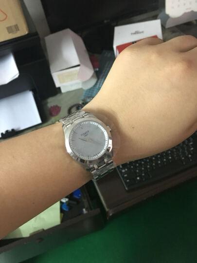 天梭(TISSOT)瑞士手表 库图系列石英女表T035.246.11.111.00 晒单图