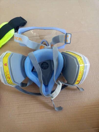 防毒面具 喷漆防烟防尘粉尘防护面罩农药甲醛工业化工全面口罩 两件套搭配7号防毒面具 其他 晒单图