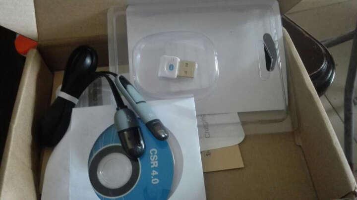 蓝牙适配器4.0创意配件 USB音频信号发射接收器 适用于台式笔记本电脑 黑色-蓝牙适配器支持Win7/8/10 晒单图