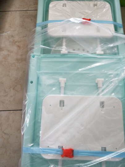 宸语居折叠成人洗澡桶保温塑料泡澡桶有盖浴桶浴盆 宽松款草绿色(124CM) 晒单图