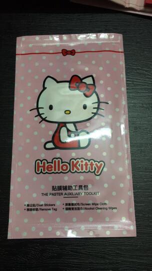 优加 HelloKitty苹果6s钢化膜3D卡通手机彩膜 适用于iPhone6/6plus 4.7英寸-棉花糖凯蒂 晒单图