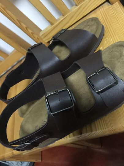 韩国原装进口纸飞机paperplanes男士运动户外凉鞋夏季新款sn219 棕色 A5(39) 晒单图