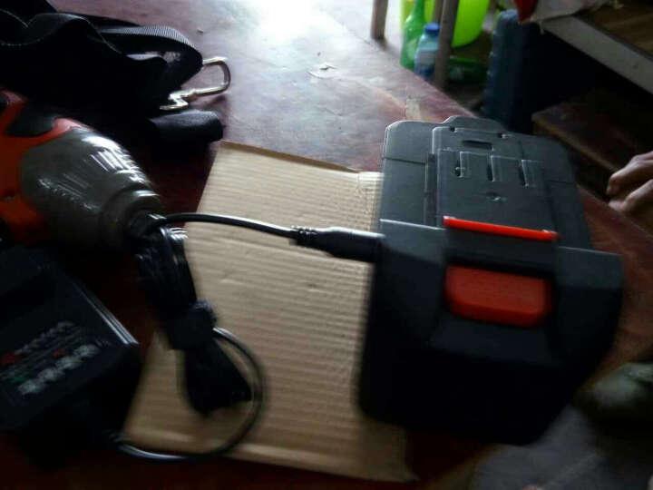 千辰无刷电动扳手/架子工扳手/脚手架扳手/电动板手/冲击扳手/锂电扳手 充电钻 无刷电机36V8000毫安一电一充 晒单图