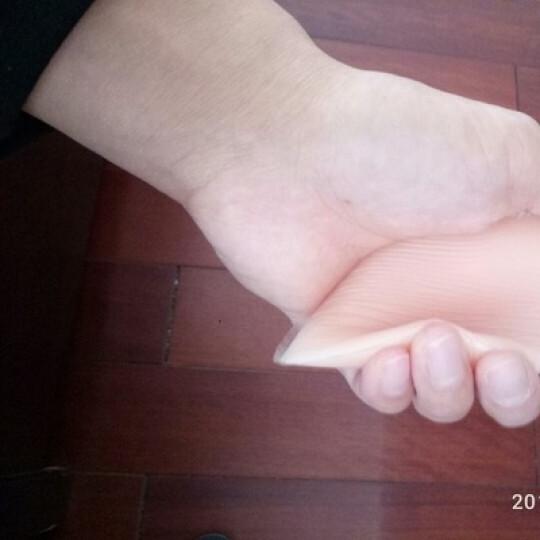 旻羲(minxi)内衣文胸插片插垫硅胶胸垫可下水上托聚拢防外扩小胸变大胸隐形无痕调整型加厚游泳衣插垫 常规C款饺子 晒单图