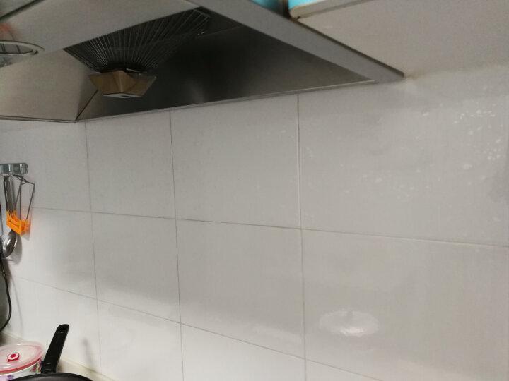 安贝易厨房防油贴纸耐高温无色透明贴膜瓷砖家具茶几保护膜玻璃防爆膜 透明防油贴 110厘米宽每米价格 晒单图