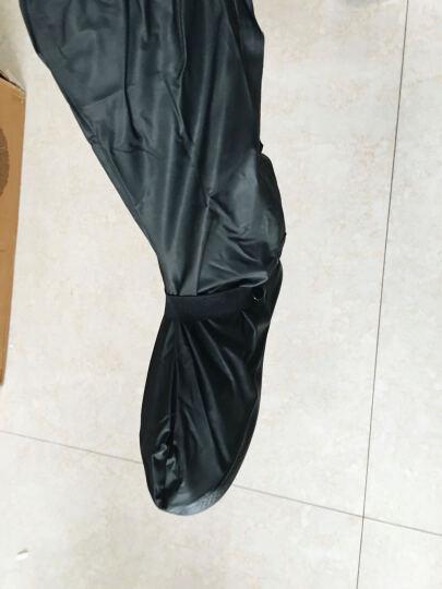 新款加厚底鞋套  全包边雨鞋套 男女款通用 多款多尺码可选 时尚款套 215白色高筒 XL 晒单图