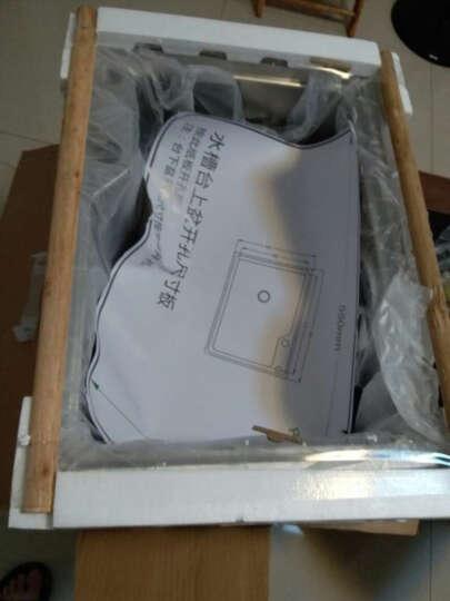 华帝(VATTI) vatti华帝卫浴厨房304不锈钢水槽 单槽套装台上台下洗菜盆 B款水槽单槽H-A1012(65)-Q 晒单图