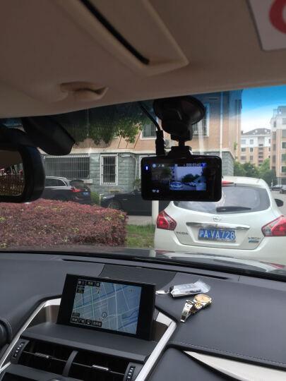 凌度 行车记录仪高清广角夜视178度汽车车载24小时停车监控 浅灰色 晒单图