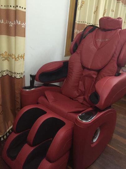 生命动力(Lifepower) 按摩椅全身豪华多功能电动按摩椅家用LP-5400S 红色 晒单图