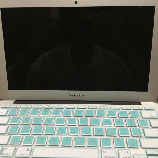 倍晶 macbook苹果pro13英寸air13.3笔记本电脑mac11.6键盘膜12贴膜15保护膜 明星蓝镂空升级 11.6英寸Air 晒单图