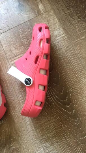 回力Warrior 洞洞鞋 夏日清爽凉鞋 沙滩鞋 女鞋潮流花园鞋049 WXL-1066 红色 37 晒单图