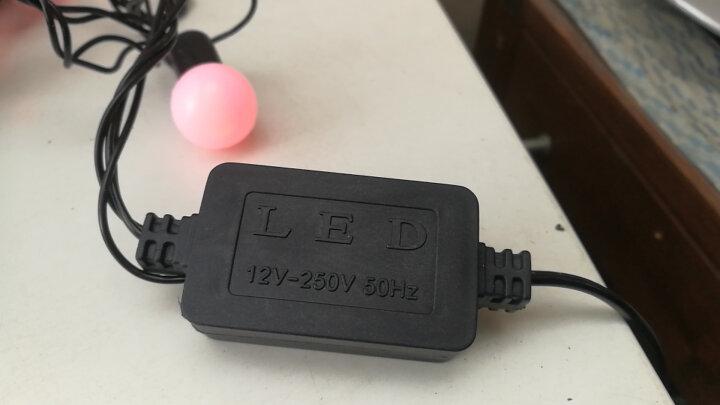 京惠思创 JH0415 LED窗帘蝴蝶彩灯装饰 灯串闪灯彩色3.6米 晒单图