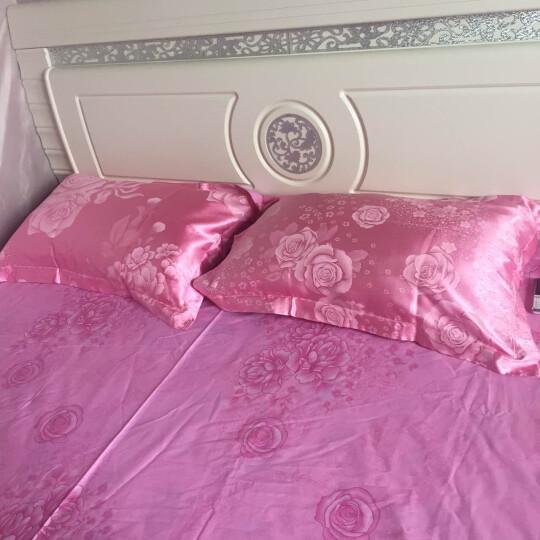 加厚保暖纯棉磨毛四件套全棉床上用品冬天双人床单被套床品套件冬季 卡洛琳 1.5/1.8米床适用(被套200x230cm) 晒单图